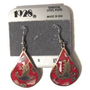 1928 Hummingbird Earrings